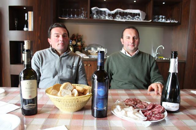 A sinistra Fausto e a destra Luigi Bagnoli