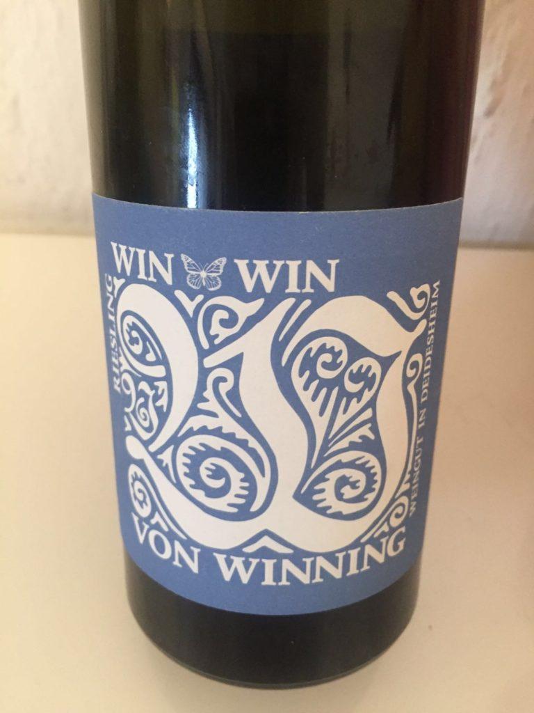 Win Win Riesling Vdp Gutswein 2013 Weingut Von Winning