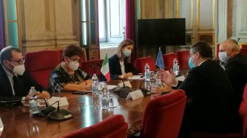 Oiv, bilaterale con Bellanova: focus su export e internazionalizzazione vino italiano