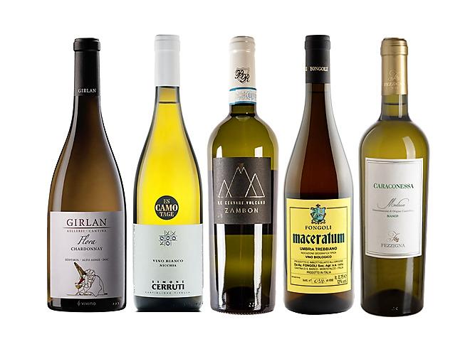 Cinque vini bianchi per Natale dalla Top 100 migliori vini italiani WineMag.it