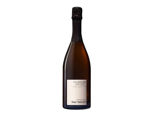 Champagne Blanc de Meunier Extra Brut Des Grillons Aux Clos Éric Taillet
