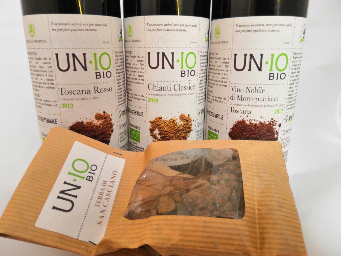 UN-IO Bio la nuova linea di vini ecosostenibili toscani