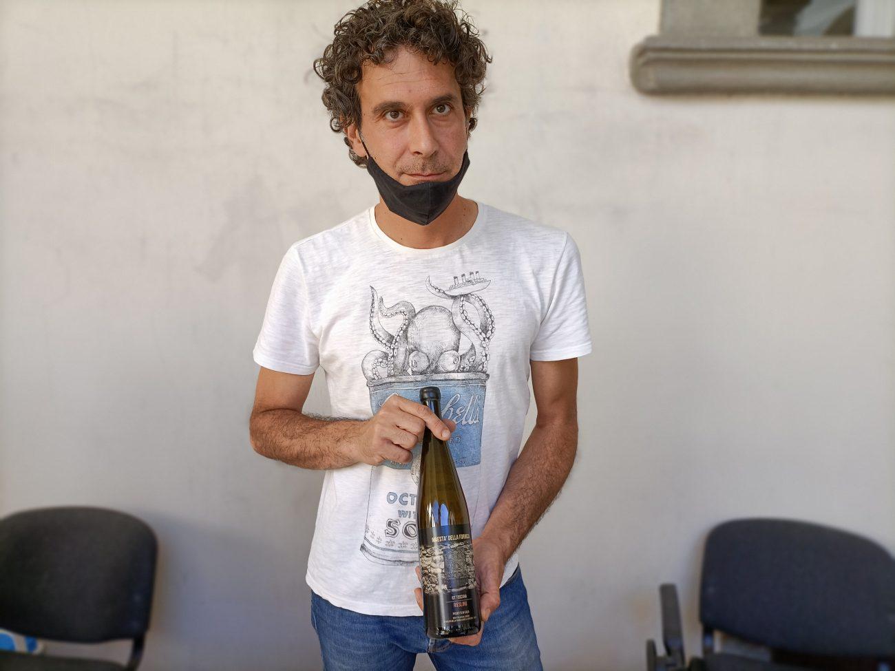 Andrea Elmi, Maestà della formica Riesling migliori assaggi Grandi Cru della Costa Toscana