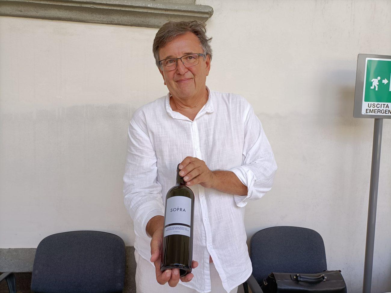 Ulrich Ziegler di Colline di Sopra migliori assaggi all'Anteprima Grandi Cru della Costa Toscana 2021