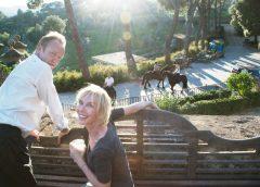 Sting e Trudy Styler con Cotarella in Toscana: i primi quattro vini di Tenuta Il Palagio
