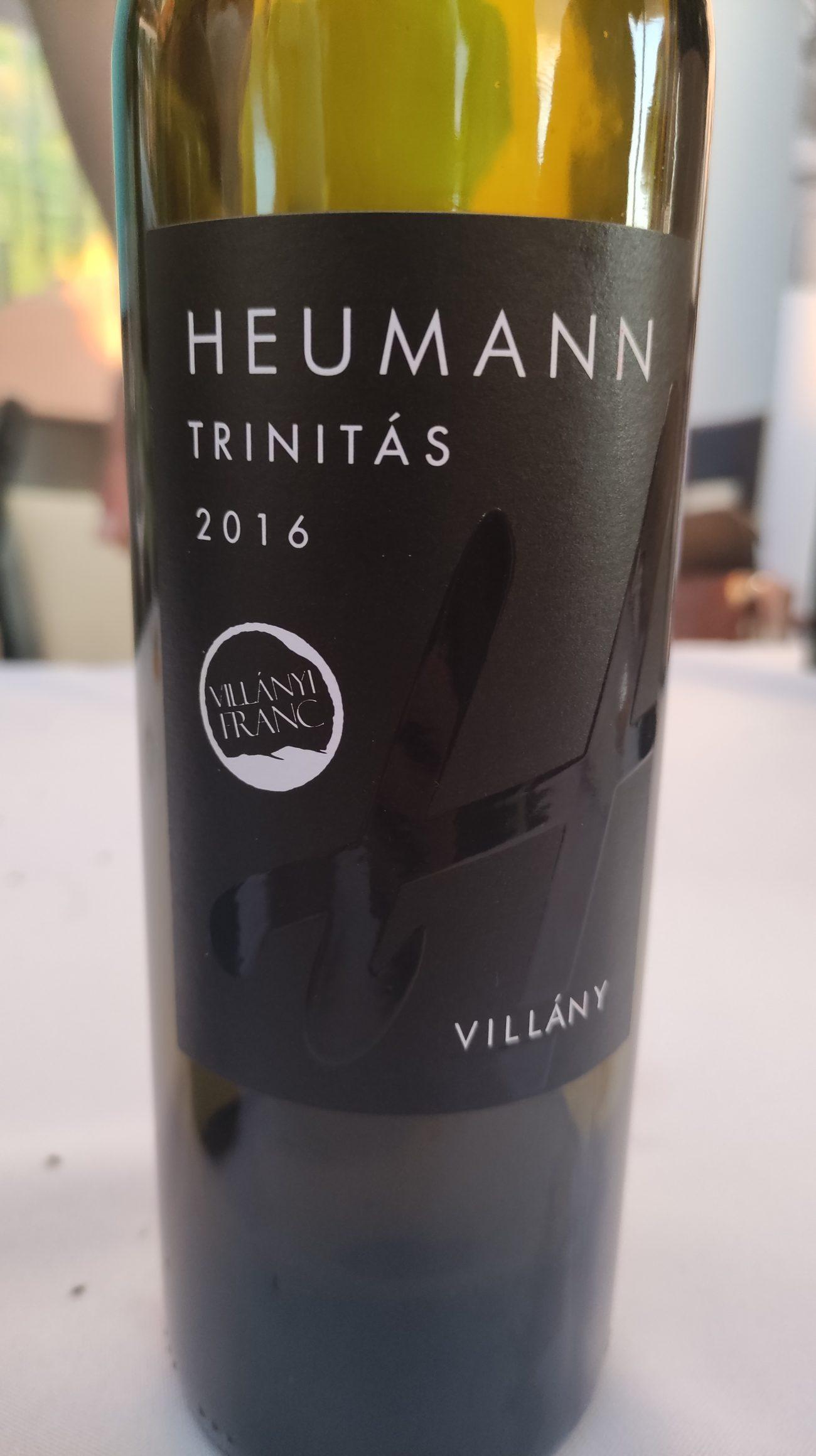 villanyi franc Heumann Trinitás 2016