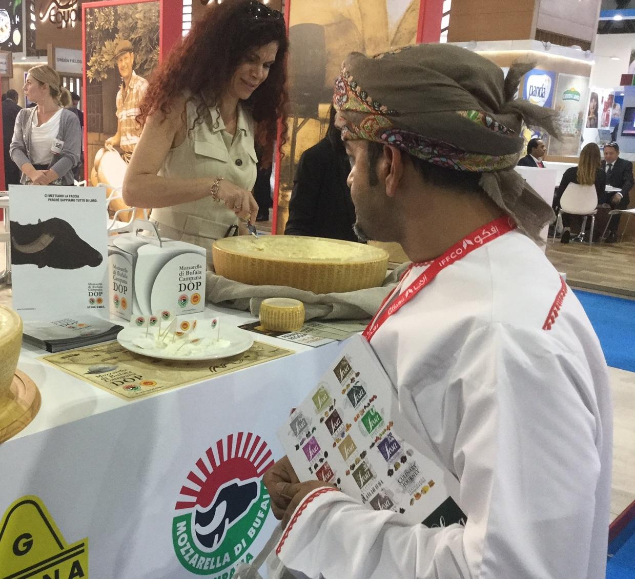 Mozzarella di Bufala Campana Dop: missione export